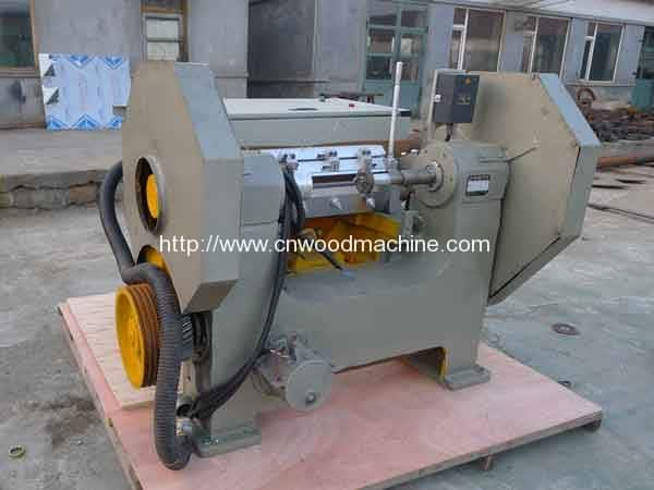 Spindle Rotary Wood Plate Cutting Machine for South America Customer