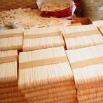 Helado Línea Sticks Producción de Brasil al cliente