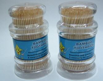 Plastic Toothpick Container
