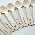 Wooden Ice Cream Spoon Machine