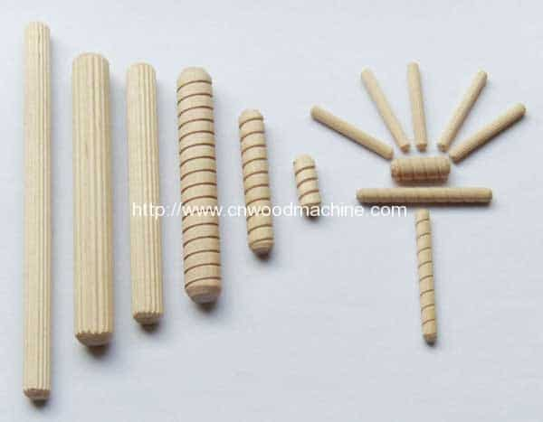 Wooden Dowel Product Line