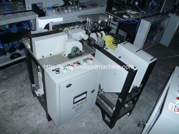 Wooden Tongue Depressor Chamfering Machine 2