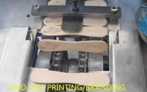 Ice Cream Sticks Double Side Branding Machine