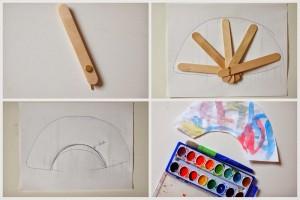 2 How to make folding popsicle stick fan