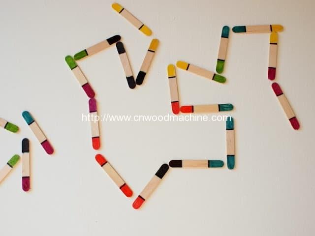 DIY Toddler Craft Stick Dominos 2