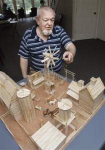 EXCHANGE Bloomington man makes Popsicle stick art (2)
