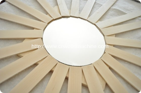 Paint Stick Sunburst Mirror 3