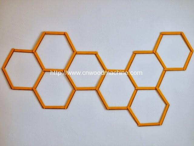 honeycomb popsicle wall art 5