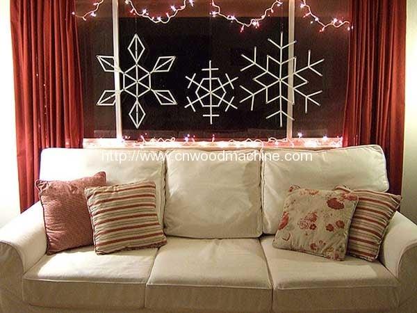 Giant-craft-stick-snowflakes