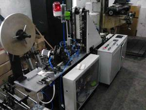 Wooden Tongue Depressors Bundling Machine