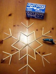 Popsicle-Stick-Snowflakes
