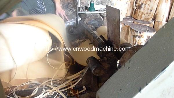 Wood-Plate-Rotary-Cutting-Machine