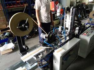 Plastic-Coffee-Stirrer-Sticks-Bundling-Machine-Testing-for-Bulgaria-Customer