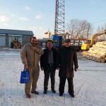 Oriente Medio cliente Visite nuestro helado Palitos de fábrica para la Cooperación
