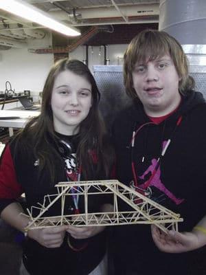 Toothpick Bridge Building Contest 2