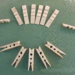Bamboo Clothespins Clips Making Line