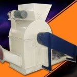 Double Feeding Wood Saw Dust Crusher