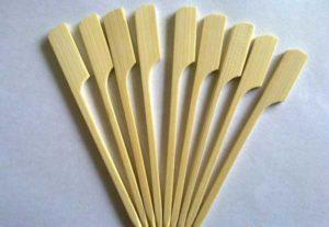 Bamboo-Flag-Shape Skewer