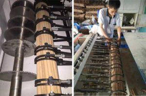 Automatic-Cosmetic-Brush-Handle-Wood-Stick-Cutting-Machine