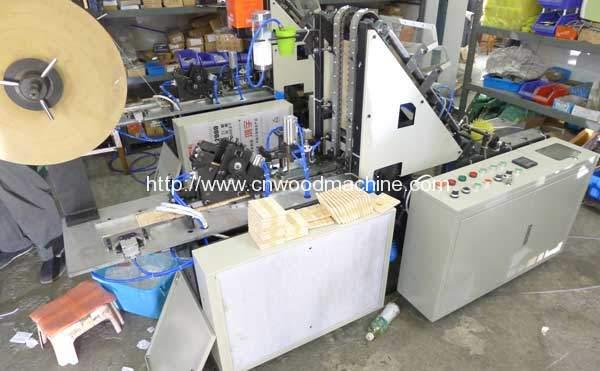 Automatic Ice Cream Stick Bundling Packing Machine for Brasil Customer