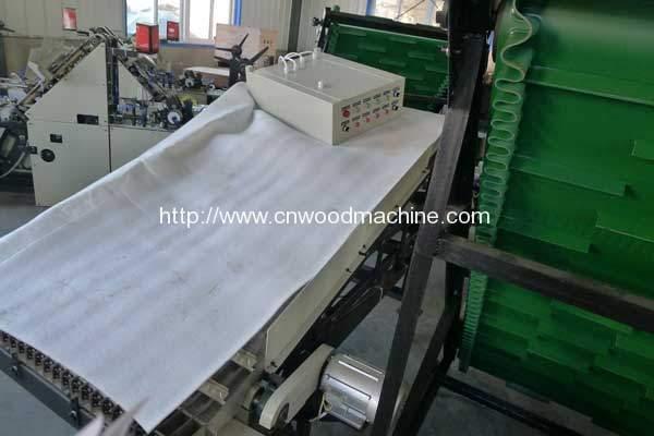 Automatic Ice Cream Stick Order Arranging Machine for Venezuela Customer
