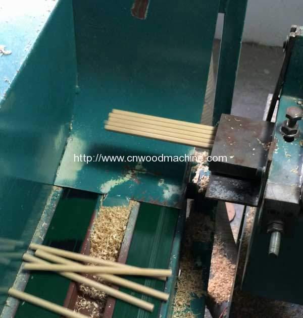 Automatic-Wooden-Slat-Pencil-Rod-Shape-Machine