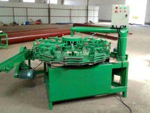 Automatic Rotary Type Bamboo Cutlery Sanding Machine