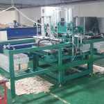 Full Automatic Disposable Wooden Spoon Fork Knife Shape Forming Machine