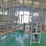Disposable Wooden Spoon Shape Forming Machine with Bulk Loading Device