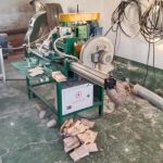 Disposable Wooden Forks Teeth Machine with Sawdust Collector
